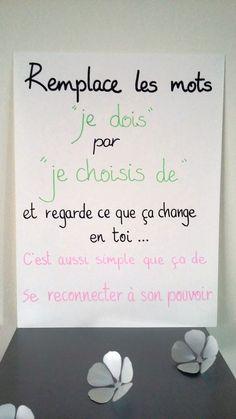 """affiche citation """" Remplace les mots ... """" : Affiches, illustrations, posters par stefebricole"""