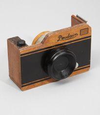 Wooden Camera Tape Dispenser / Fred Flare