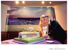 Lupton Stadium Groom's Cake