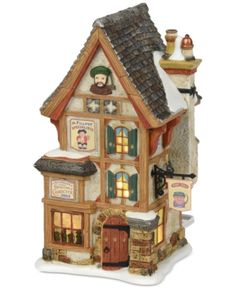 Victorian times come alive in the Dickens' Village series by Department Create a tiny Christmas Village inspired by the novels of Charles Dickens. Christmas Village Display, Christmas Villages, Christmas Houses, White Christmas, Vintage Christmas, Christmas Crafts, Christmas Tree, Department 56, Succulent Garden Diy Indoor