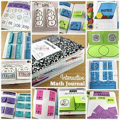 Interactive Math Journals, Math Notebooks, Maths Journals, Math Rotations, Math Centers, Numeracy, Math Games, Math Activities, Preschool Math