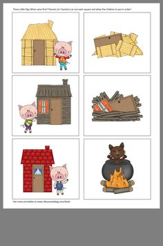 English Activities, Preschool Learning Activities, Preschool Crafts, Three Little Pigs Houses, Barnyard Party, Third Grade Science, Theme Days, Farm Theme, Classroom Displays