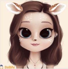 Kids trend alert: Gacha, Dollify and the popularity of digital dolls - SuperAwesome Kawaii Girl Drawings, Bff Drawings, Cute Little Drawings, Cute Girl Drawing, Cartoon Girl Drawing, Cartoon Art, Cute Cartoon Girl, Cute Girl Wallpaper, Chibi Girl