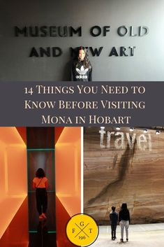 No trip to Hobart in Tasmania is quite complete without visiting the Museum of Old and New Art. Check out this awesome subterranean museum with the kids! Family travel destination. Family travel tips. Family travel kids. #familytravel #travelwithkids #monamuseum CLICK ON THE LINK to access our blog post about everything you need to know before visiting Mona in Hobart.
