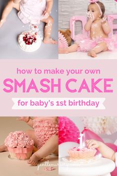Get inspired to make a healthy smash cake your baby will love with one of these healthy smash cake recipes. Everything from Healthy smash cake DIY tips, to Healthy smash cake boy or Healthy smash cake girl ideas and even Healthy smash cake banana recipes. If you are looking for easy healthy smash cake recipes for your baby's 1st birthday you will find everything you need on my blog. Any of these cakes will be perfect for your babys first birthday party celebration! #smashcake… Smash Cake Recipes, Smash Recipe, Baby 1st Birthday, First Birthday Cakes, Birthday Ideas, Baby Cake Smash, Birthday Party Celebration, Traditional Cakes, Healthy Cake