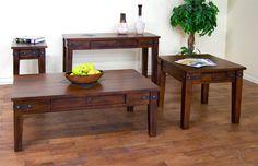 Sunny Designs Santa Fe 3160DC Coffee Table Set Love these