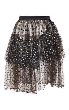Designer Clothes, Shoes & Bags for Women Fair Lady, High Waisted Skirt, Waist Skirt, Elegant Dresses, A Line Skirts, Sequin Skirt, How To Wear, Clothes, Polka Dot