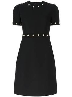 Designer Clothes, Shoes & Bags for Women Tight Dresses, Short Sleeve Dresses, Fitted Dresses, Classy Outfits, Beautiful Outfits, Dress Skirt, Dress Up, Gucci Dress, Gucci Gucci