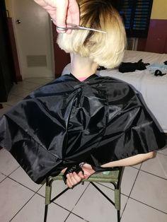 Girl Haircuts, Bob Hairstyles, Long Hair Cuts, Long Hair Styles, Kelly Cut, Forced Haircut, Bald Girl, Barber Shop, Longer Hair