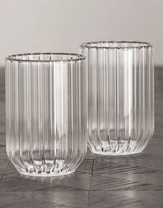 FFERRONE | WATER GLASSES. Handcrafted by master glassblowers in the Czech Republic