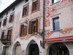 Pordenone and San Daniele near the the Austrian border.