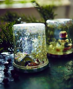Learn how to make a snowglobe to transform everyday items into a magical hibernal scene that will delight children and adults alike.