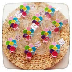 ♥ Tiryaki Hobi ♥: Keçe bebek şekeri / doğumgünü magneti - balon demeti (AZRA) ----------    felt baloons