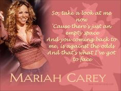 Mariah Carey - Against All Odds (Take A Look At Me Now) + Lyrics
