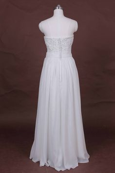 2015 boho wedding dresses chiffon beach wedding dresses by BBW168