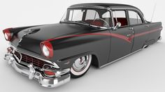 1956 Ford Fairlane Town Sedan by *SamCurry on deviantART