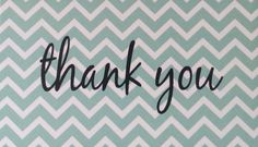 Thank you enclosure cards by kconnerdesigns on Etsy 25 cards for $8