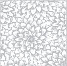 Silver Chrysanthemum Tissue