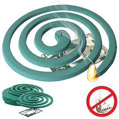 Mosquito Repellent Coils - Outdoor Use Reaches Up to 10 feet - Each Coil Burns for Hours (Three Pack. Title: Mosquito Repellent Coils - Outdoor Use Reaches Up to 10 feet - Each Coil Best Mosquito Repellent, Insect Repellent, Rv Gifts, Diy Tent, Mosquitos, Pest Control, 7 Hours