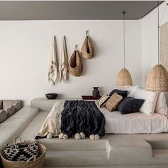 As you can see minimalism dominates, there is not a lot of unnecessary furniture just the basic. There aren't things which take our energy away. Functionality is main command in this design.