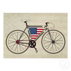 Shop USA Bike poster created by MovingFish. Bicycle Safety, Fixed Gear Bicycle, Wooden Bicycle, Bicycle Art, Bicycle Women, Road Bike Women, Cycling Tattoo, Bike Poster, Bike Brands