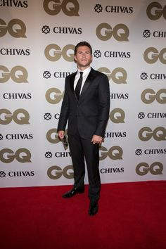 Scott Eastwood in a Giorgio Armani tuxedo to present at the 10th Annual GQ Australia Men of the Year Awards held last night in Sydney. #ArmaniStars
