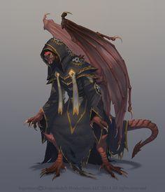 Gar Concept - Sigantium by damie-m winged kobold sorcerer monster beast… Fantasy Character Design, Character Design Inspiration, Character Concept, Character Art, Writing Inspiration, Fantasy Races, Fantasy Warrior, Fantasy Rpg, Dungeons And Dragons Characters