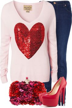 """valentines day"" by lulu-belle-love on Polyvore"
