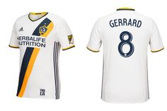 Camisas do LA Galaxy 2016 Adidas MLS Titular