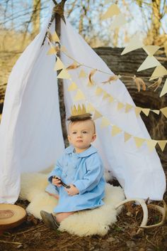 Everly Deer Design   Hunt's 1st Birthday Shoot   Styled Shoot   Jessie Holloway Photography