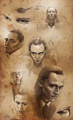 Loki study... by Syllirium on DeviantArt