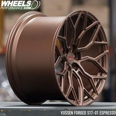 </br>Beautiful Espresso Concave Vossen Forged monoblock wheel Reach for full wheel and tire packages delivered to your door. Worldwide shipping available. Rims For Cars, Rims And Tires, Wheels And Tires, Car Wheels, Car Rims, Custom Wheels, Custom Cars, Jetta A4, Rose Gold Rims