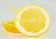 Healthy Lemonade #Recipe for #summer - #t2hmkr