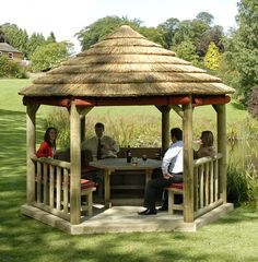 Gazebos are also quite popular in parks and backyards. They can transform the look of your backyard with a relatively small investment. Once you enjoy your first dinner outdoors in the comfort of your own patio, you will be glad that you made this decision! The main difference between gazebos and pergolas is that gazebos ALWAYS have a round shape. This is a quick and easy trick to tell them apart!