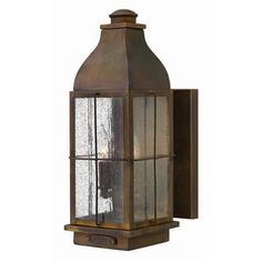 Bingham Sienna Medium Wall Outdoor Light Fixture Hinkley Wall Mounted Outdoor  on bellacor.com Clearance Price: $185.97*