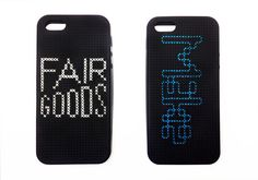 Picture of DIY cross-stitched iPhone case