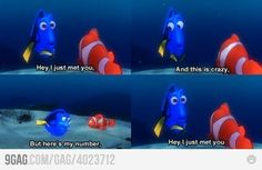 Dory being Dory