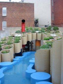 Urban Cardboard Garden