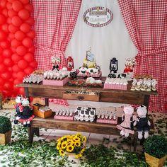 festa fazendinha menina rustica - Pesquisa Google