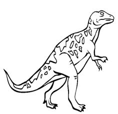 megalosaurus dinosaur coloring pages