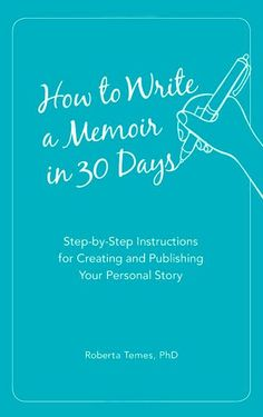 Great book on how to write a memoir in 30 days. Step by Step instructions for creating and publishing your personal story