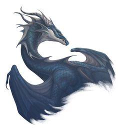 West wind dragon by Pechschwinge.deviantart.com on @DeviantArt