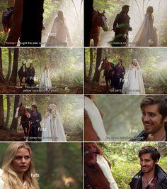 """Emma and Hook - 5 * 4 """"Broken Kingdom"""" #CaptainSwan"""