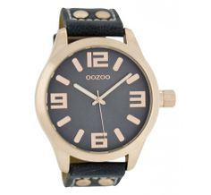 Horloge OOZOO Timepieces C6029 Donkerblauw (45MM) kopen? Op werkdagen voor 16u besteld, volgende dag geleverd. Gratis levering vanaf 50€!