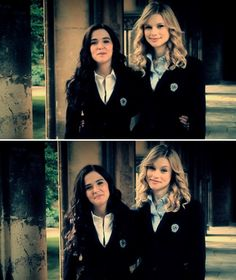 Zoey Deutch and Lucy Fry / Rose Hathaway and Lissa Dragomir