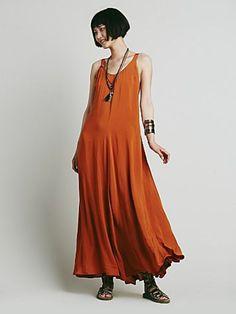Free People Womens Naya Maxi Dress
