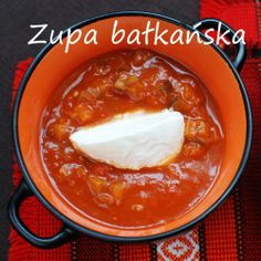 zupa bałkańska Chili, Food, Chile, Essen, Meals, Chilis, Yemek, Eten