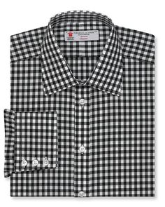Turnbull & Asser Gingham Dress Shirt - Regular Fit |