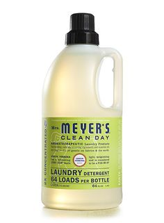 Mrs Meyers Clean Day Lemon Verbena Laundry Detergent... just tried this out for a change and I can't believe how nice it is. Our clothes smell so clean and crisp. $14.99