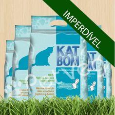 Katbom, granulado sanitário biodegradável. Excelente
